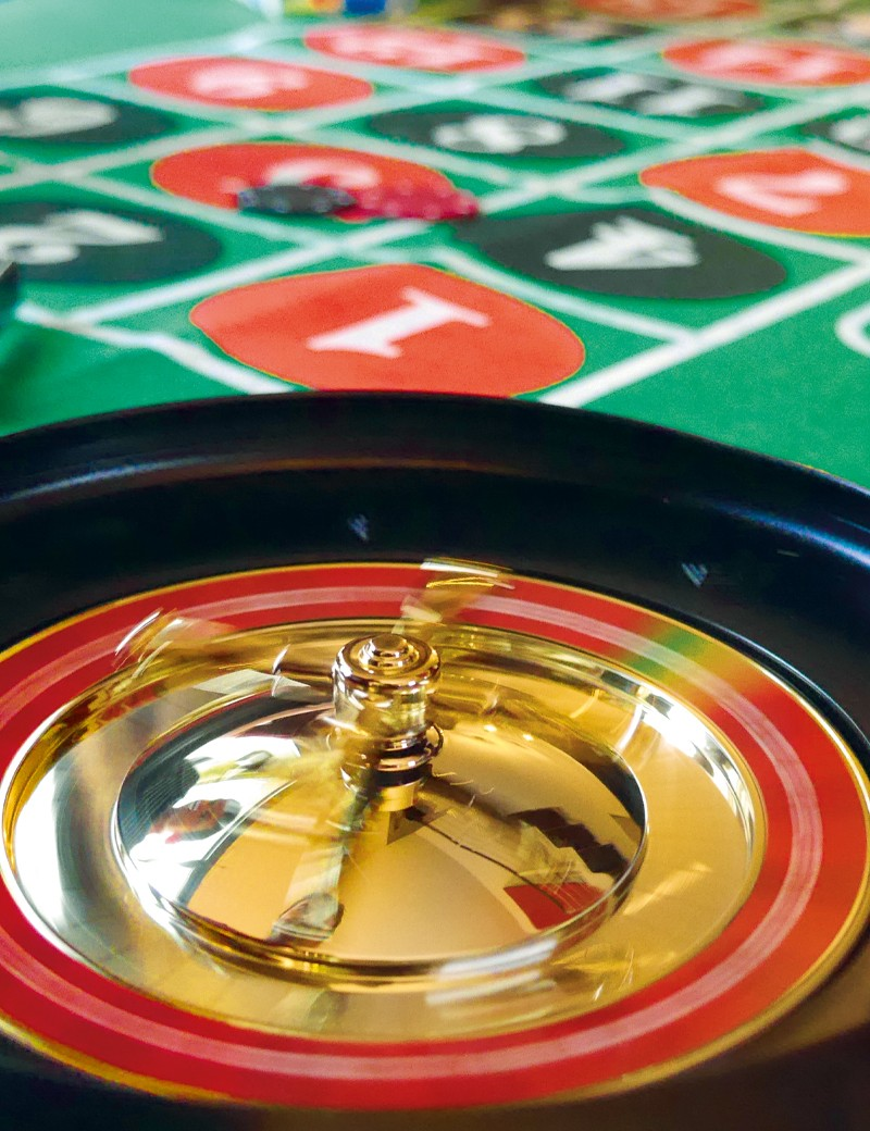 anniversaire au casino