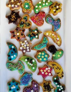 décoration de délicieux petits sablés