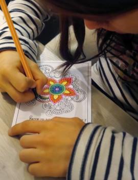 Décoration des cartes postales